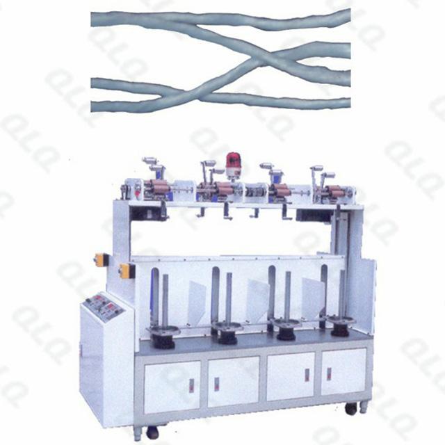 QLQ-CC8M Automatic Zipper Centre Cord Making Machine (8 heads)