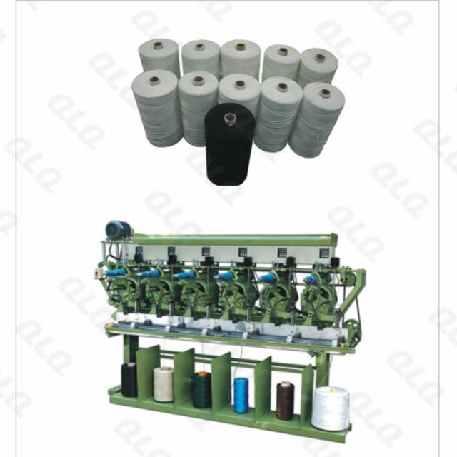 QLQ-CCRM Automatic Zipper Centre Cord Rolling Machine/Bobbin Machine