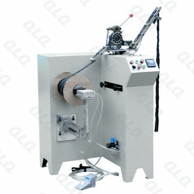 QLQ-BLWM Automatic Long-chain Zipper Winding Machine (cardboard bobin model )