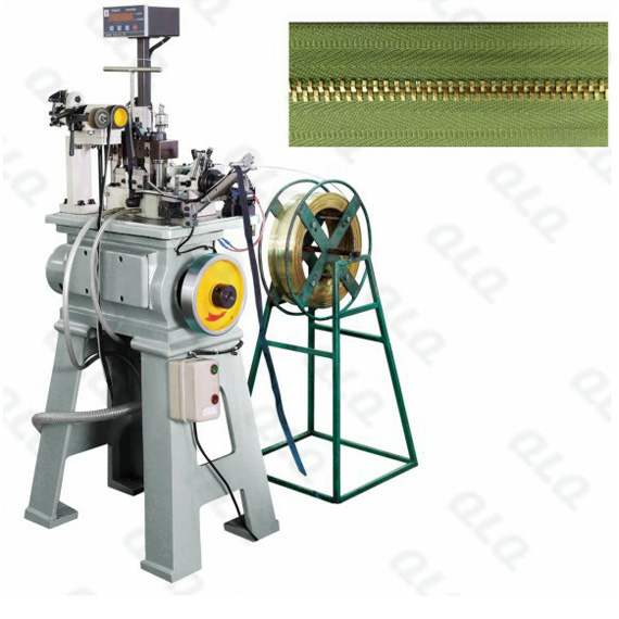 QLQ-NTSM Automatic Metal Zipper Normal Teeth Stamping Machine