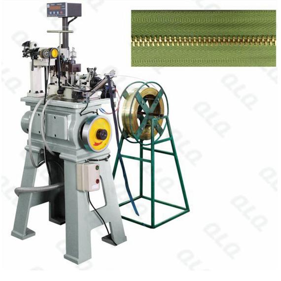 QLQ-NTSM Automatic Metal Zipper Normal Teeth Stamping Machine