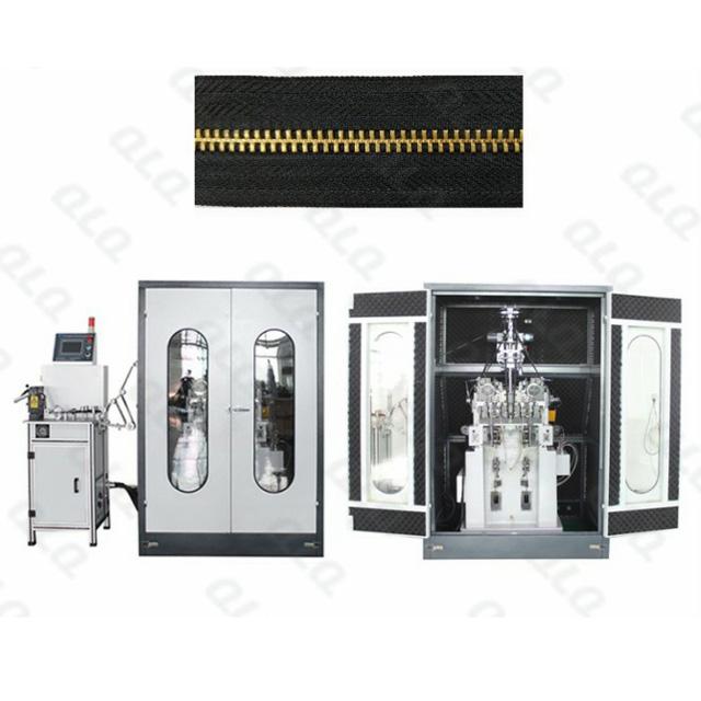 QLQ-YTSM2 Automatic Metal Zipper  Y Teeth Stamping Machine (double heads)