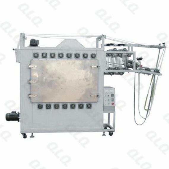 QLQ-NIIM Automatic Nylon & Invisible Zipper Ironing Machine (one chamber)