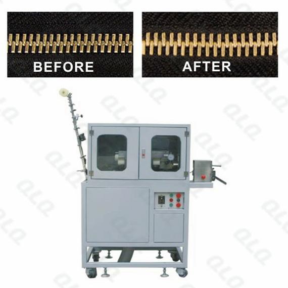 QLQ-MFPM Automatic Metal Zipper Mirror Face Polishing Machine