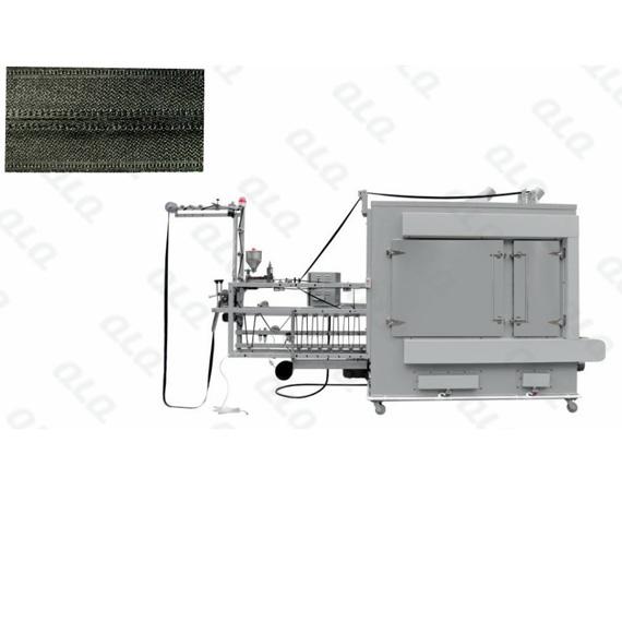 QLQ-WZGM Automatic Waterproof Zipper Gumming Machine