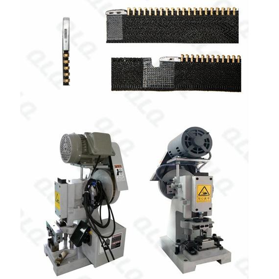 QLQ-SPMM Semi-automatic Metal Zipper Pin Fixing M/C - Machine (have back fixing & side fixing choosin