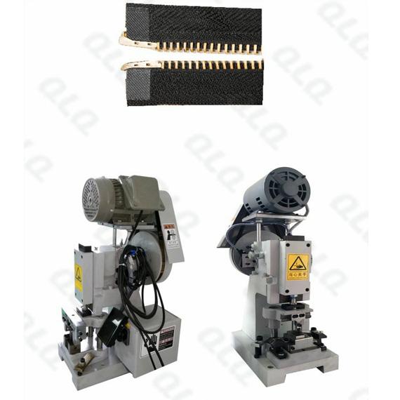 QLQ-SPPM Semi-automatic Metal Zipper Pin Pin Fixing M/C - Machine ( have back fixing & side fixing fo