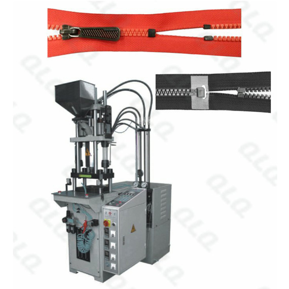QLQ-SDIM-1 Semi-automatic Plastic Zipper Closed-end and Open-end Injection M/C (for zipper with/witho