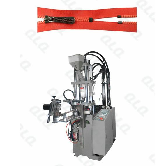 QLQ-DCIM Automatic Plastic Zipper Closed-end Injection M/C