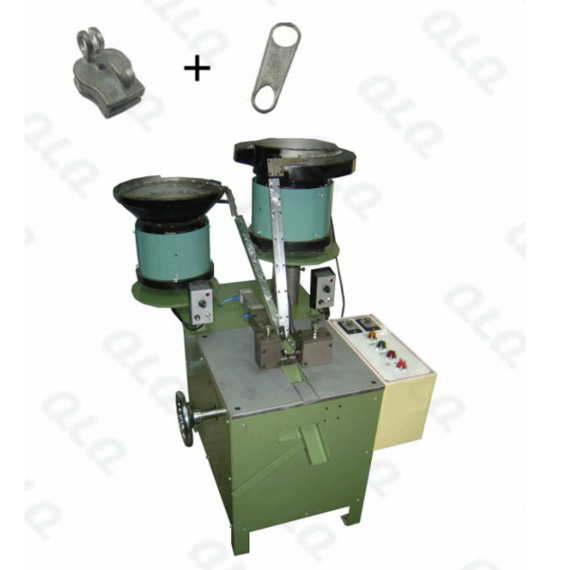 QLQ-002K Automatic Non-lock (keyhole type) Slider Assembly Machine