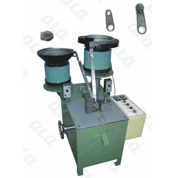 QLQ-016 Semi-automatic Non-lock  (keyhole type) Slider Assembly Machine (for fancy puller)
