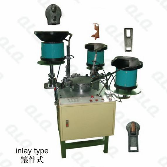 QLQ-023 Automatic & Semi-automatic Italy Type Slider Assembly Machine