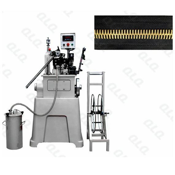 QLQ-RTSM Automatic Metal Zipper Riri Teeth/Corn Teeth Stamping Machine