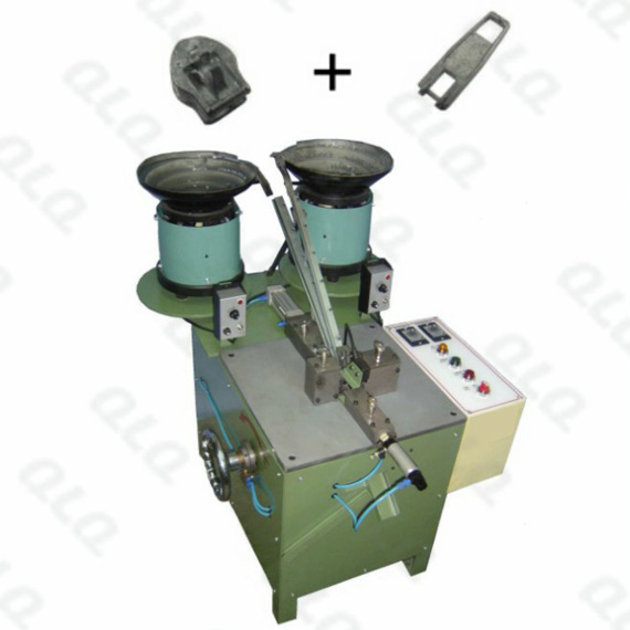 QLQ-001 Automatic Pin-lock Slider Body & Puller Assembly Machine