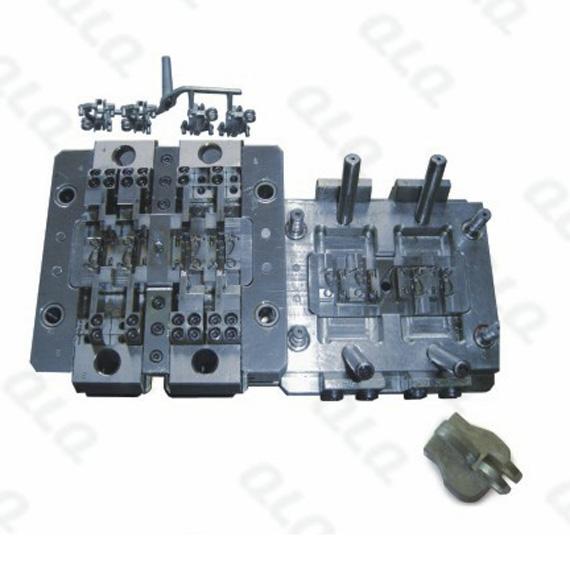 N106 Key-hole non-lock Slider Body Mould