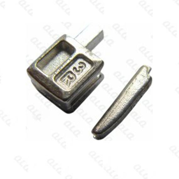 No 3 nylon back punch pin box one way