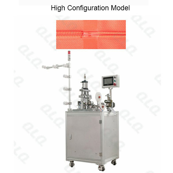 QLQ-UFSM Automatic Nylon Zipper Ultrasonic Film Sealing M/C - Machine