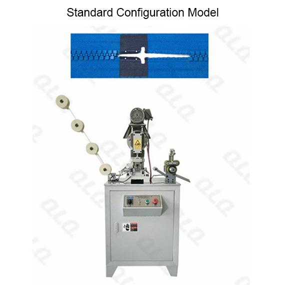 QLQ-HPM Automatic Plastic Zipper Hole Punching M/C - Machine
