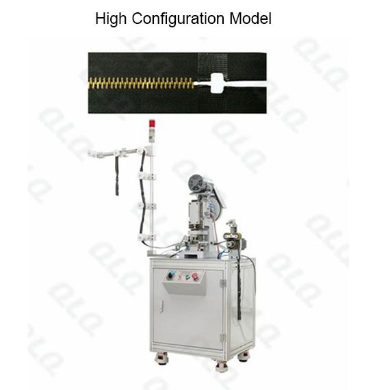 QLQ-HPM Automatic Metal Zipper Hole Punching M/C - Machine