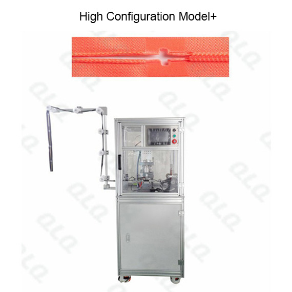QLQ-UHPM Automatic Nylon Zipper Ultrasonic Hole Punching M/C - Machine