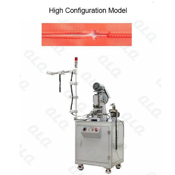QLQ-HPM Automatic Nylon Zipper Hole Punching M/C - Machine