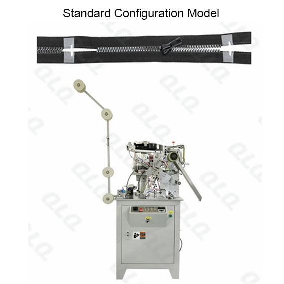 QLQ-SMM Automatic Plastic Zipper Single Side Slider Mounting M/C - Machine