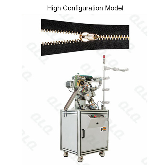 QLQ-SMM Automatic Metal Zipper Slider Mounting M/C - Machine