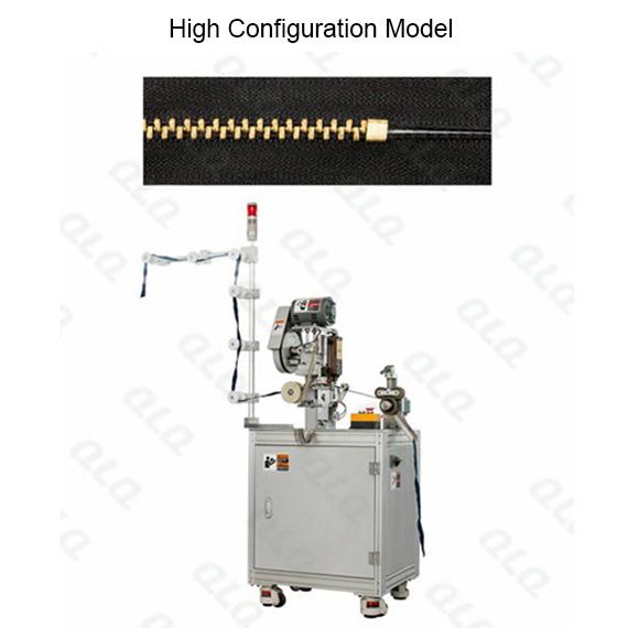 QLQ-BSM Automatic Metal Zipper Bottom Stop M/C - Machine (by brass bottom stop wire)