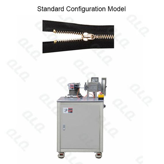 QLQ-SMUTM Semi-automatic Metal Zipper Top Stop M/C - Machine (by grain U shape top stop)