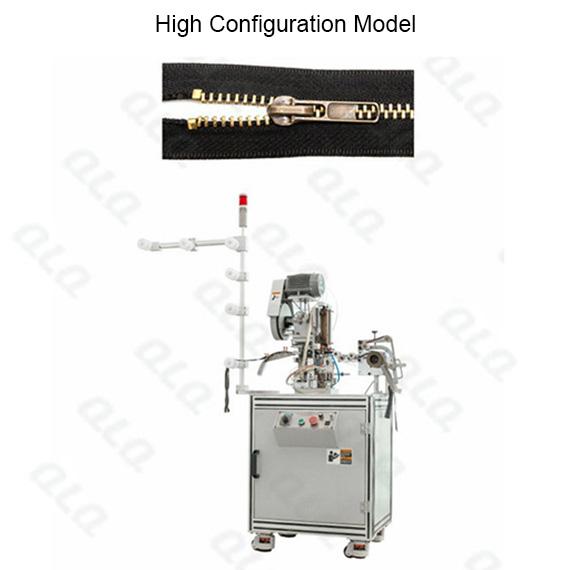 QLQ-TSM Automatic Metal Zipper Top Stop M/C - Machine (by top stop brass wire)