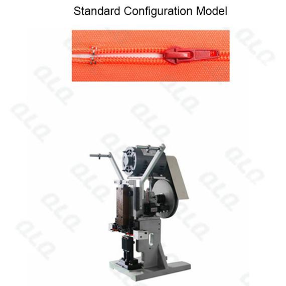 QLQ-STSM-1 Semi-automatic Nylon Zipper Top Stop M/C - Machine (by aluminum top stop wire)