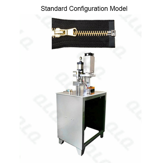 QLQ-SOCM-2 Semi-automatic Metal Zipper Ultrasonic Open-end Cutting M/C - Machine