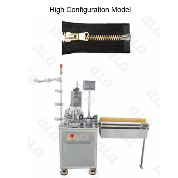 QLQ-OCM-2 Automatic Metal Zipper Ultrasonic Open-end Cutting M/C - Machine