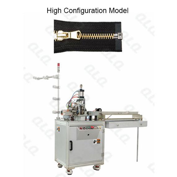 QLQ-OCM-1 Automatic Metal Zipper Open-end Cutting M/C - Machine