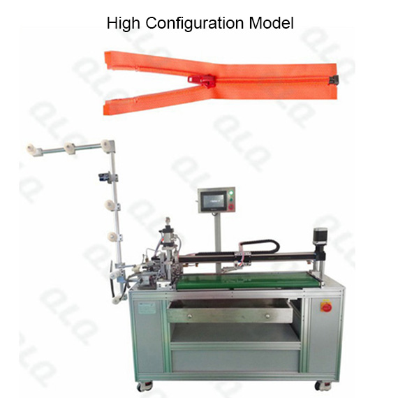 QLQ-OCM-3 Automatic Nylon Zipper Open-end Cutting M/C - Machine(with labour hand )