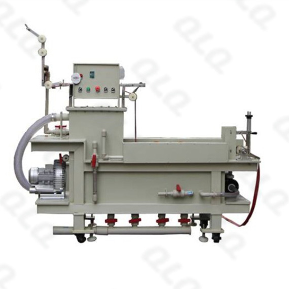 QLQ-CMBP Automatic Metal Zipper Cleaning & Color Fixing Machine (before plating) (have economic model