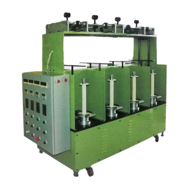 Automatic Zipper Centre Cord Making Machine  (8 heads, with bobbin frame and double twist cord frame)