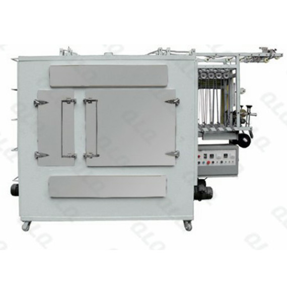 What are the difference between case type and steam type zipper ironing machine?