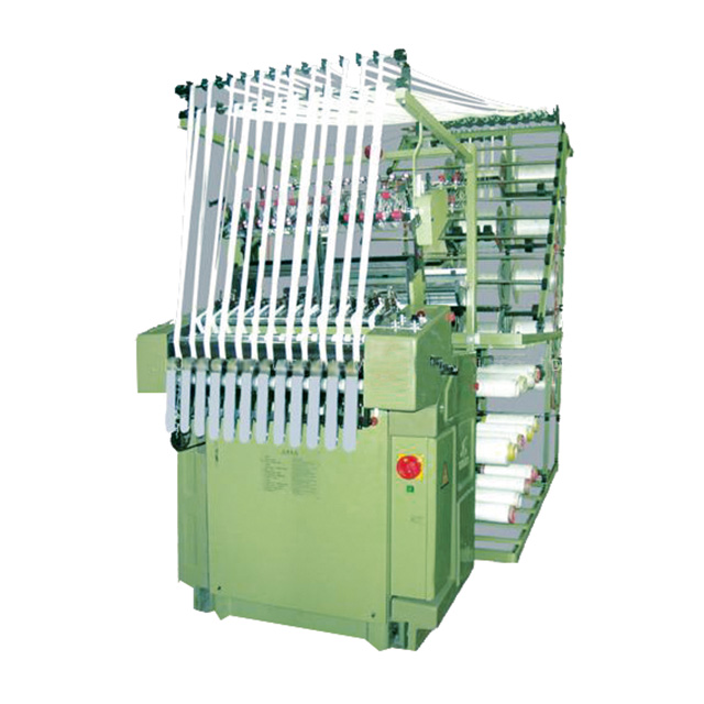 Automatic Nylon Zipper Needle Loom Machine(12tapes, largest weaving width: 25mm)