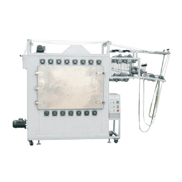 Automatic Nylon & Invisible Zipper Ironing Machine(4lines zipper, one chamber)