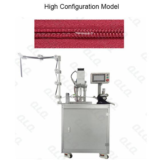 QLQ-IUBSM, Invisible Zipper, Ultrasonic Bottom Stop Machine, Teeth Melting Bottom Stop Machine, Zipper Machine