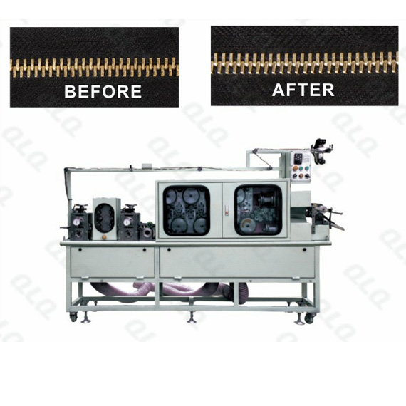 QLQ-F12P, Metal Zipper, Surface Polishing Machine, Intelligent Polishing Machine, Zipper Polishing Machine