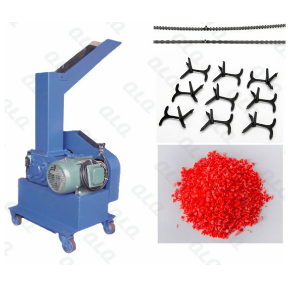 QLQ-DCM, Plastic Zipper, Waste Material Crushing Machine, POM Material Machine, Zipper Machine