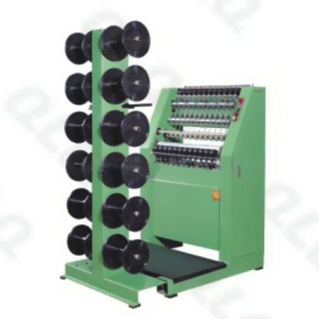 QLQ-WCCM Automatic Zipper Weaving Centre Cord Machine