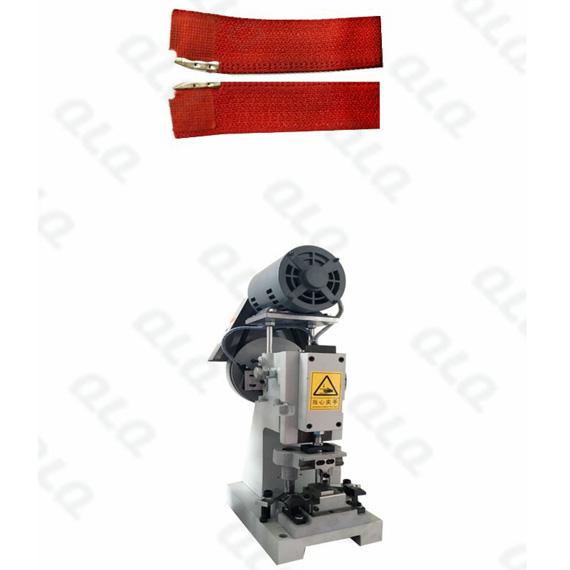 QLQ-SPPM Semi-automatic Nylon Zipper Pin Pin Fixing M/C - Machine  (Fixing have have Back Side & F