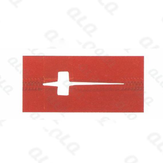 QLQ-NRPB Rectangular Hole Punching Mould (for nylon zipper pin box fixing)