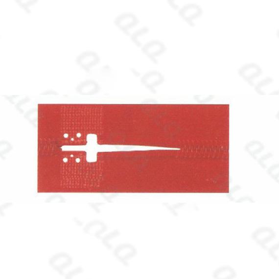 QLQ-NPB-6T 6 Holes T Cutting Punching Mould (for No.3 nylon zipper pin box injecting)