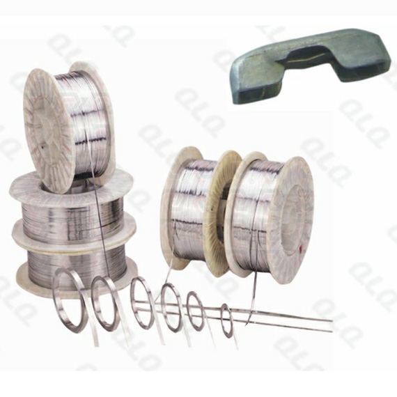 Stainless Steel Wire (for spring cap of 5 components auto-lock slider)
