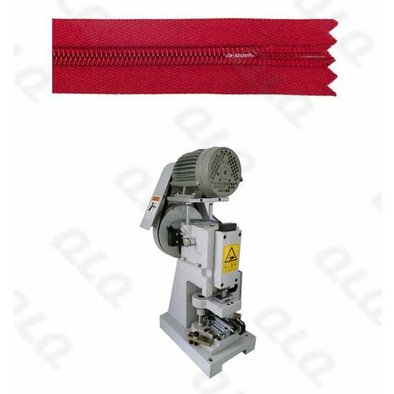 QLQ-SZCM Semi-automatic Invisible Zipper Closed-end Zigzag Cutting M/C - Machine