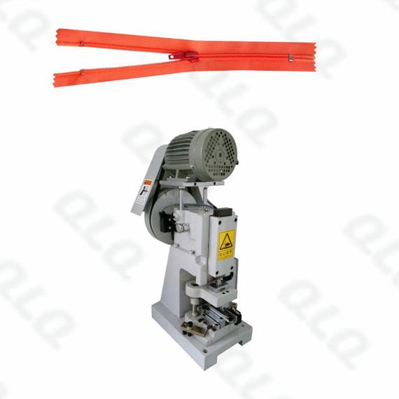 QLQ-SZCM-1 Semi-automatic Nylon Zipper Closed-end Zigzag Cutting M/C - Machine